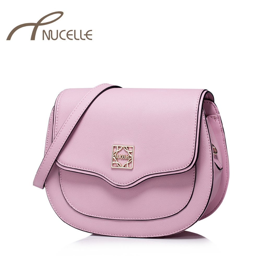 NUCELLE Women Split Leather Shoulder Bags Fashion Female Brief Circular Crossbody Bag Ladies Leather Small Messenger Bag 1170870 new small crossbody bag casual shoulder bags women small fashion split leather messenger bags ladies fashion handbag women chain