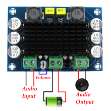 LEORY 1 قطعة 100W مضخم مونو الرقمية مكبر كهربائي الرقمية مضخم الصوت مجلس DC12 26V XH M542