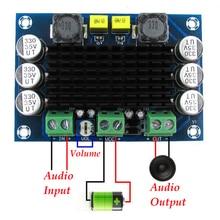 LEORY 1pcs 100W Subwoofer Mono Amplificatore di Potenza Digitale Digital Audio Amplificatore Consiglio DC12 26V XH M542