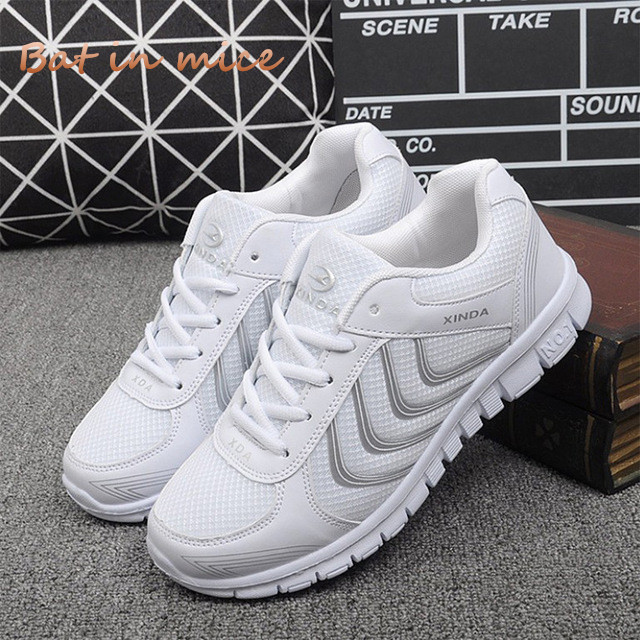 Women shoes New Arrivals fashion tenis feminino light breathable mesh shoes woman casual Comfort flats shoes women sneakers W625 women shoes sneakers 2018 fashion mesh breathable non slip lightweight female shoe woman tenis feminino