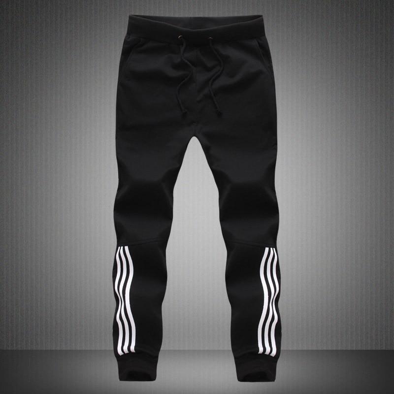 HTB1z0RXhhrI8KJjy0Fpq6z5hVXad Spring Summer Mens Pants Fashion Skinny Sweatpants Mens Joggers Striped Slim Fitted Pants Gyms Clothing Plus Size 5XL Harem Pant