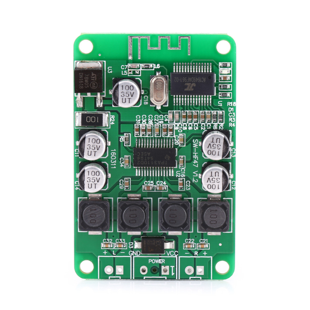 Tpa3110 2x15w Bluetooth Audio Power Amplifier Board For Speaker Dual Electric Unit Circuit Module 12v Mini Channel Electronic In Instrument Parts Accessories From Tools