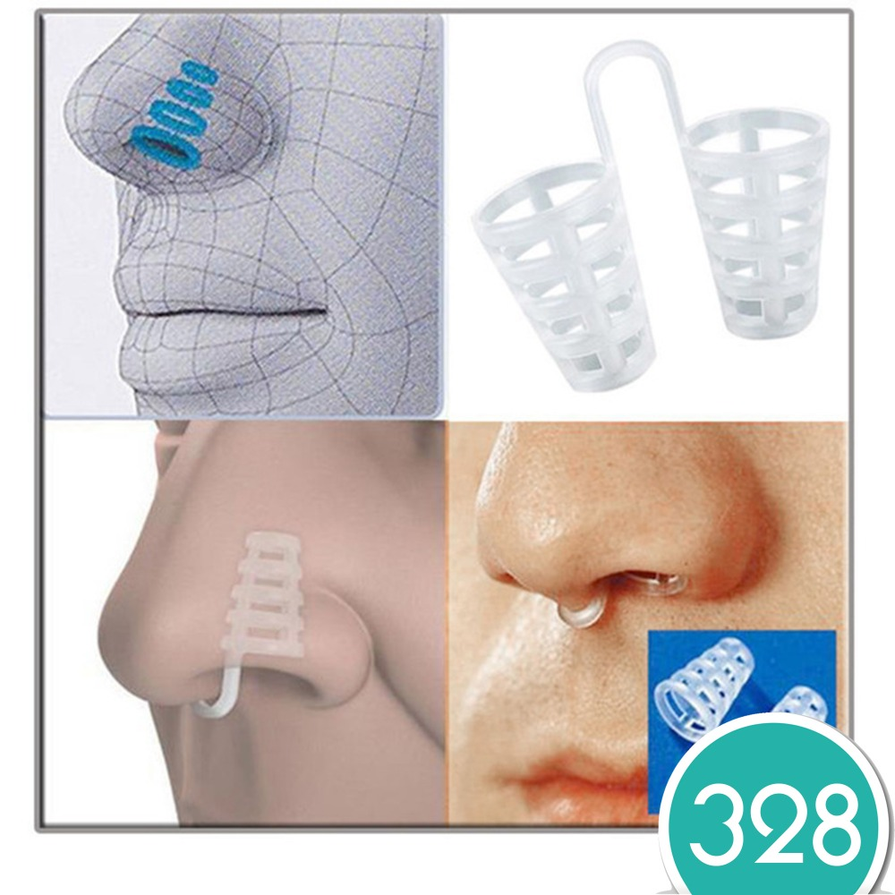 4pcs Healthy Sleeping Aid Equipment Stop Snoring Magnetic Anti Snore Apnea Nose Clip Mini Transparent Anti-Snoring Device