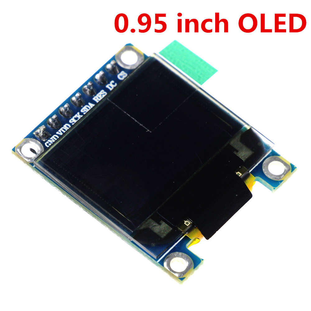 Hot Selling 7PIN 0.95 Inch Full Color OLED Display Module with 96x64 Resolution SPI Parallel Interface SSD1331 ControllerHot Selling 7PIN 0.95 Inch Full Color OLED Display Module with 96x64 Resolution SPI Parallel Interface SSD1331 Controller