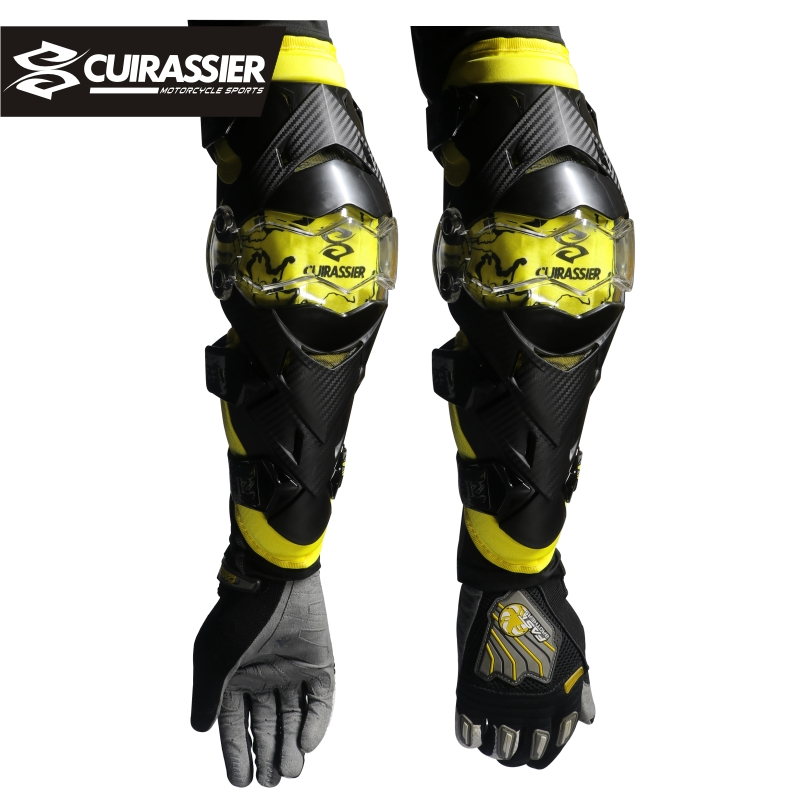 Motorcycle Elbow Protector Cuirassier Kneepad Knee Guards Motocross Downhill Dirt Bike MX Protection Off-Road Racing Elbow Pads