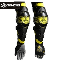 Motorcycle Elbow Protector Cuirassier Kneepad Knee Guards Motocross Downhill Dirt Bike MX Protection Off Road Racing Elbow Pads