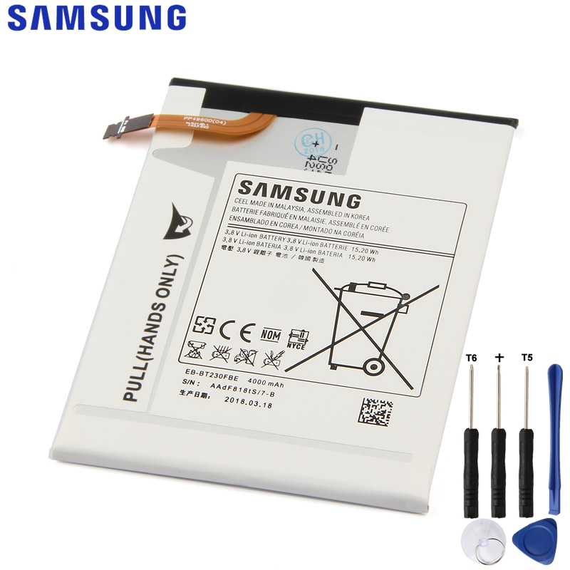 Original Replacement Samsung Tablet  Battery For Galaxy Tab 4 7.0 Nook SM-T230 T231 T235 EB-BT239ABE EB-BT230FBE 4000mAhOriginal Replacement Samsung Tablet  Battery For Galaxy Tab 4 7.0 Nook SM-T230 T231 T235 EB-BT239ABE EB-BT230FBE 4000mAh