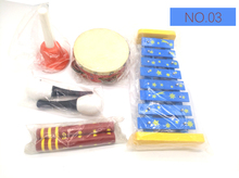 купить BIG SALE 6pc New musical instruments toy set wooden percussion instruments for baby preschool kids music rhythm early learning дешево