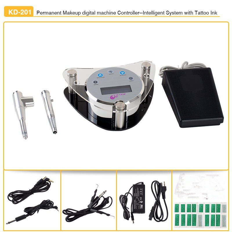 Wholesale tattoo permanent makeup machine kit professional piercing set for eyebrows embroidery