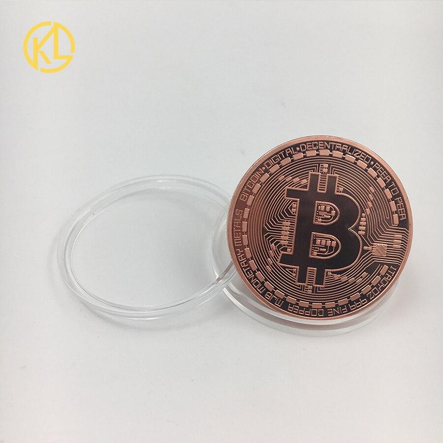 CO012 позолоченный эфириум классическая монета памятная монета художественная коллекция подарок физическая имитация из металла вечерние украшения для дома - Цвет: CO-019-3