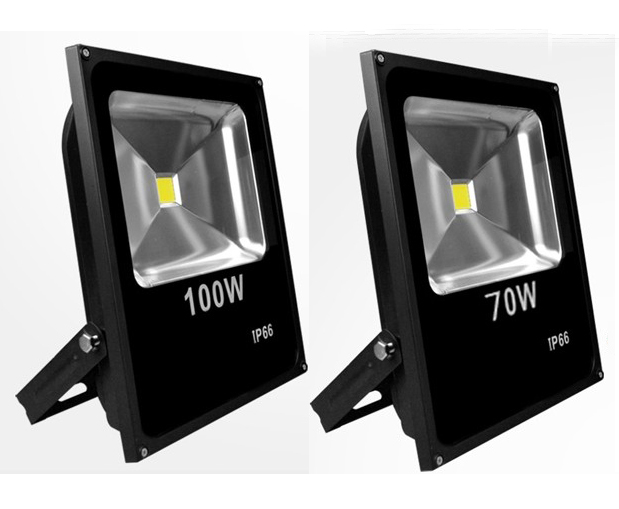 LED Floodlight 100W Waterproof IP66 Warm White Cold White RGB Led Outdoor Lighting LED Spotlight Lamp DHL Free Shipping