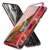 Магнитный чехол для samsung Galaxy S10 S10e S10 плюс 5G S8 S9 плюс Примечание 8 9 Экран протектор Закаленное Стекло A60 A70 Магнитный чехол