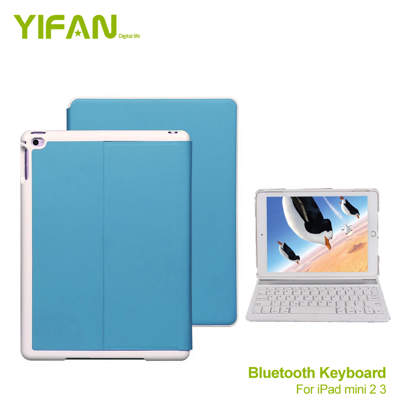 Folio 3.0 Bluetooth Wireless Keyboard Case for iPad mini 3 2 1,Handheld & Handsfree ModesViewing Modes and Auto Sleep / Wake