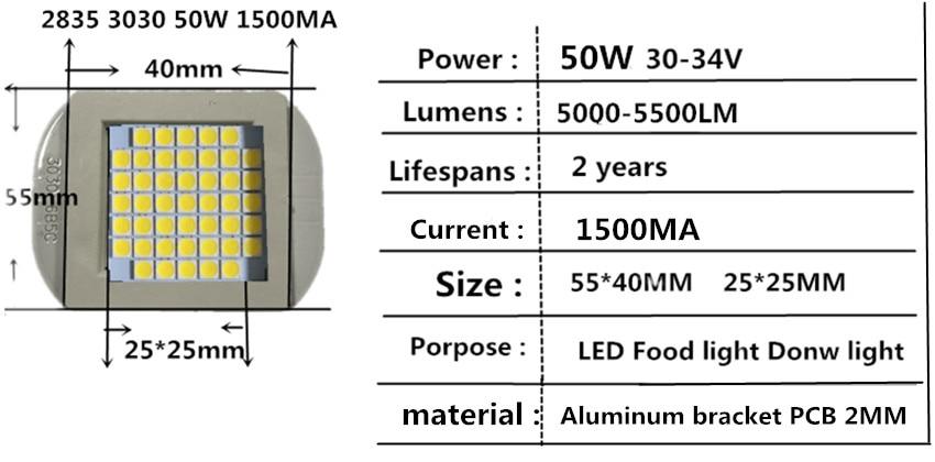 50W 3030