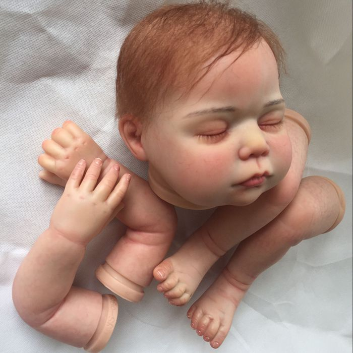 Baby Dolls DIY Model Silicone Reborn Baby Dolls Kits for 22 Inch Doll Body Parts with PaintingBaby Dolls DIY Model Silicone Reborn Baby Dolls Kits for 22 Inch Doll Body Parts with Painting