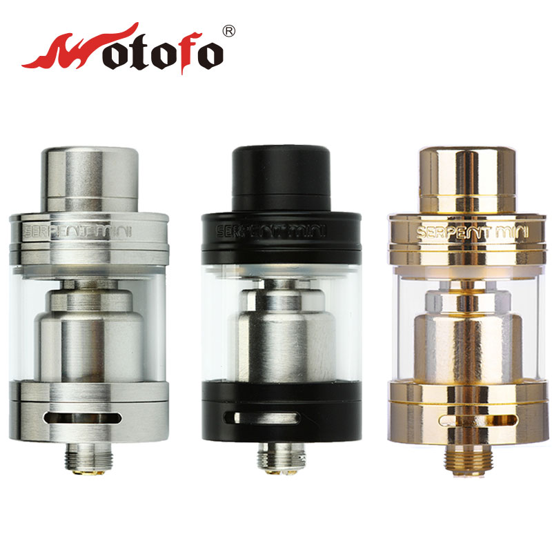 Original Wotofo Serpent Mini RTA 3ml atomizer Serpent Wotofo mini tank Adjustable Airflow Top fill e cig Rebuildable atomizer original wotofo serpent rdta rta tank 2 5ml capacity top filling rebuildable tank atomizer clamped build deck e cig rdta atomize
