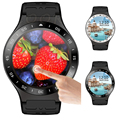ZW99 Smart Watch MTK6580 Android 5.1 OS 360*360 Pixles Support Nano Sim Card WiFi GPS Heart Rate Monitor Smartwatch Wristwatch