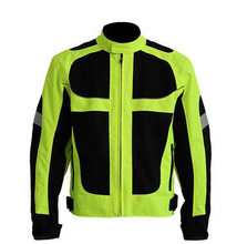 Hot Sale Breathable Men's Summer Motorcycle Jacket Best Quality  Motorcycle Clothing Waterproof   Reflective Jacket