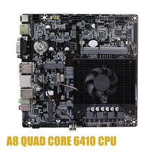 Ultra mini ITX Delgado placa base incorporada en CPU A8 6410 R5 Video gráfico de APU VGA RJ45 HDMI USB 3,0 mSata usar 12V DC