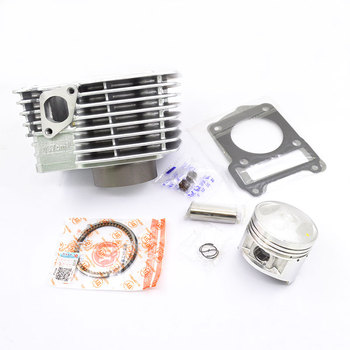High Quality Motorcycle Cylinder Kit 57mm Bore 137cm3 For Yamaha YBR137 YBR 137 Engine Spare Parts