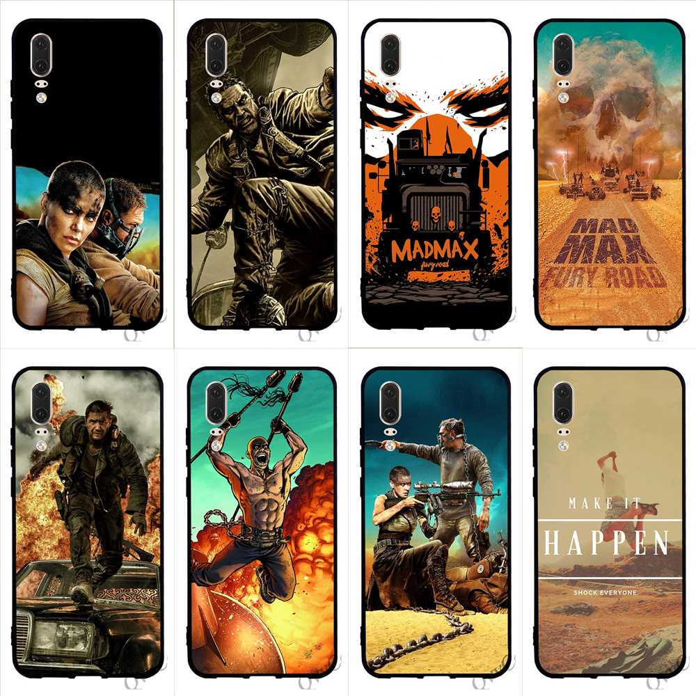Fitted Cases Cellphones & Telecommunications Pattern Mad Max Phone Cover For Huawei Mate 10 Pro Case 20 P8 P20 P10 P9 Lite Mini P Smart Tpu Fragrant Aroma