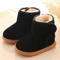 Snow Boots Winter Baby Child Style Cotton Boot Warm Snow Boots Baby Girl Winter Shoes Tenis