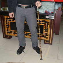 The old man cane crutches leading copper Walker crafts stick birthday blessing a crutch