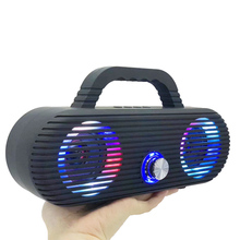 цена на Hifi Portable Bluetooth Speaker FM Radio Stereo Subwoofer System Sound Bar Subwoofer Portable Column Bluetooth Speakers for Tv