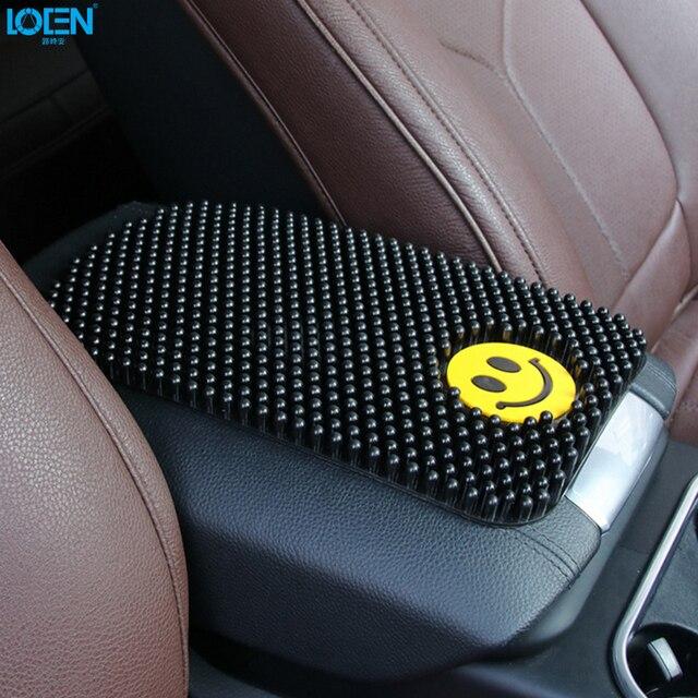 Противоскользящий коврик автомобильный орнамент 28*17 см авто украшение нескользящий коврик автомобильный внутренний держатель для панелей...