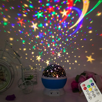 2018 NEWEST Baby Night Light, AnanBros Remote Control Star Projector with Timer Music Player, Rotating Constellation Night Light