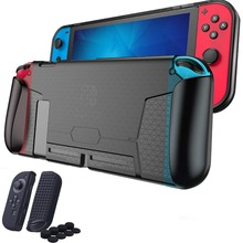 For Nintendo Switch Soft Protective Case Shell Foggy Clear Handle Grip Cover Guards For Nintend Switch NS Game Accessories 2019 protective case crystal cover shell shockproof back clear ultra thin transparent for nintendo switch ns game console controller