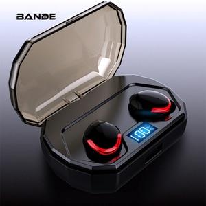 Image 1 - Auriculares Bluetooth 5,0 TWS R10 5,0 auriculares inalámbricos con micrófono a prueba de agua para teléfono inteligente