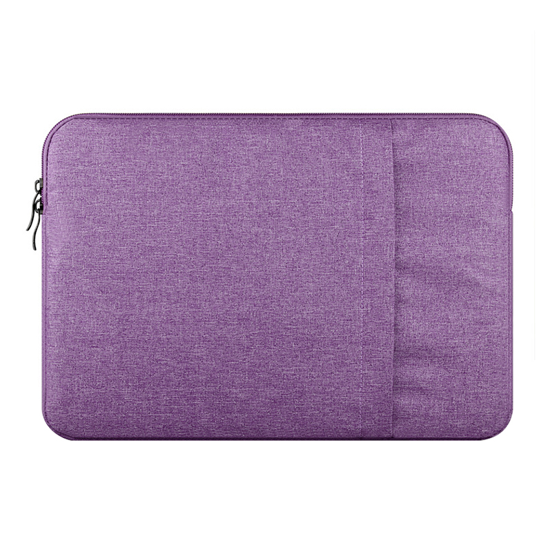 2017 Nylon Laptop Bag Sleeve Pouch for Macbook Air Pro 15 Retina 15 Unisex Liner Sleeve Notebook Case for Macbook Air 15(Purple)