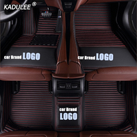 KADULEE car floor Foot mat For Land Rover freelander 2 discovery 3 evoque Range Rover make custom waterproof carpet with logo