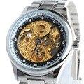 BIAOKA Transparent Gold Watch Men Watches Top Brand Luxury Relogio Male Clock Men Watch Montre Homme Mechanical Skeleton Watch