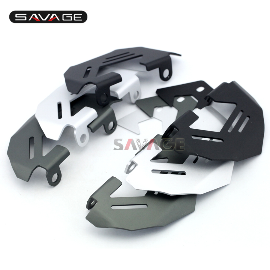 For BMW R1200GS LC/Adv 13-16, R1200R R1200RS S1000XR 15-16 Motorcycle Aluminum Front Left & Right Brake Caliper Cover Guard for bmw r1200gs lc adv 13 16 r1200r r1200rs 2015 2016 motorcycle aluminum front