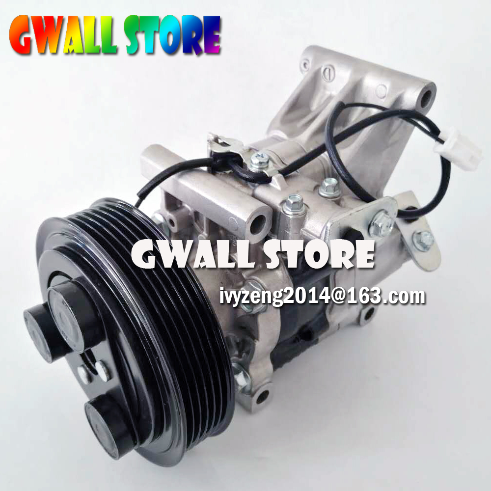 AC COMPRESSOR FOR MAZDA 2 M2 2010 2012 For Mazda Air Conditioner Compressor V09A1AA4AK D651 61 K00C D65161450G D65161450H in Air conditioning Installation from Automobiles Motorcycles