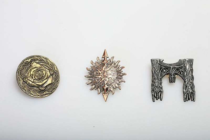 A Storm of Swords Badges Brooch Pin 3 Pieces One Set A Song of Ice and Fire Pin