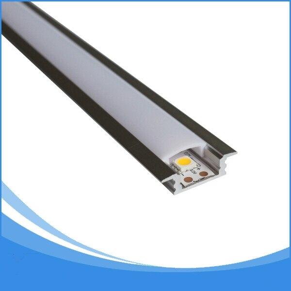 20 STKS 1 m lengte aluminium led profiel gratis DHL verzending led - LED-Verlichting