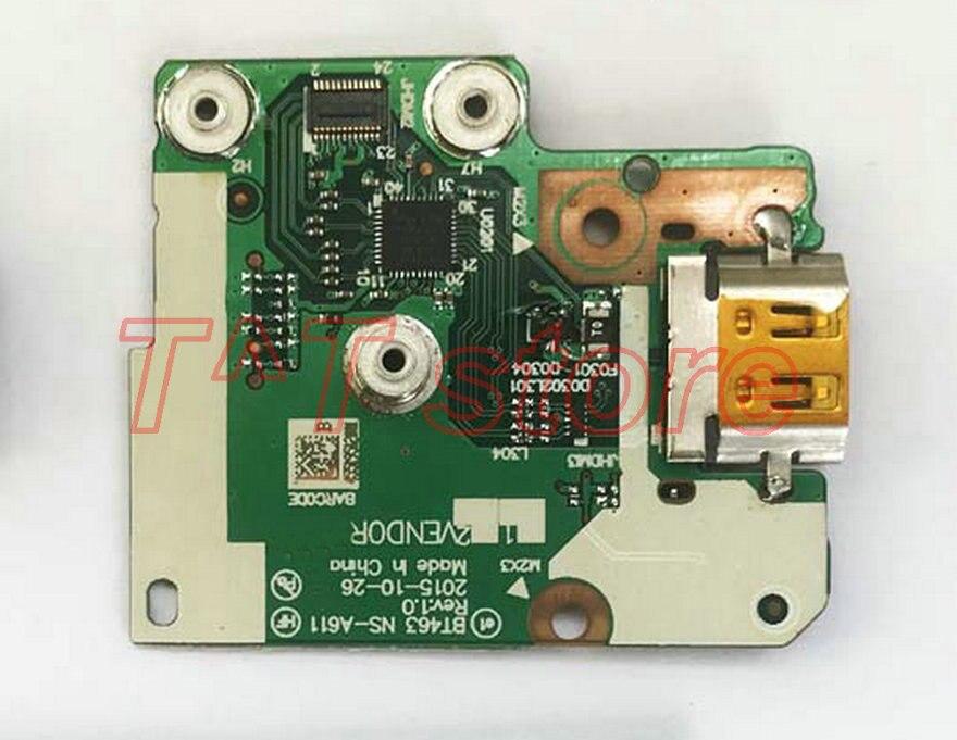 Original t460 t460p power botton hdmi placa NS-A611 teste bom frete grátis