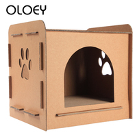 3 in 1 Use Cat Climbing Furniture Cat House Scratch Post Cat Jumping Toy with Ladder for Kittens Pet House Toys Pet Cat Supplies