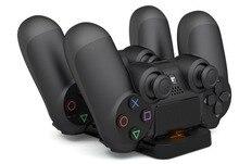 Playstation док-станции зарядные беспроводные подставка зарядка устройства контроллер двойной ручка usb
