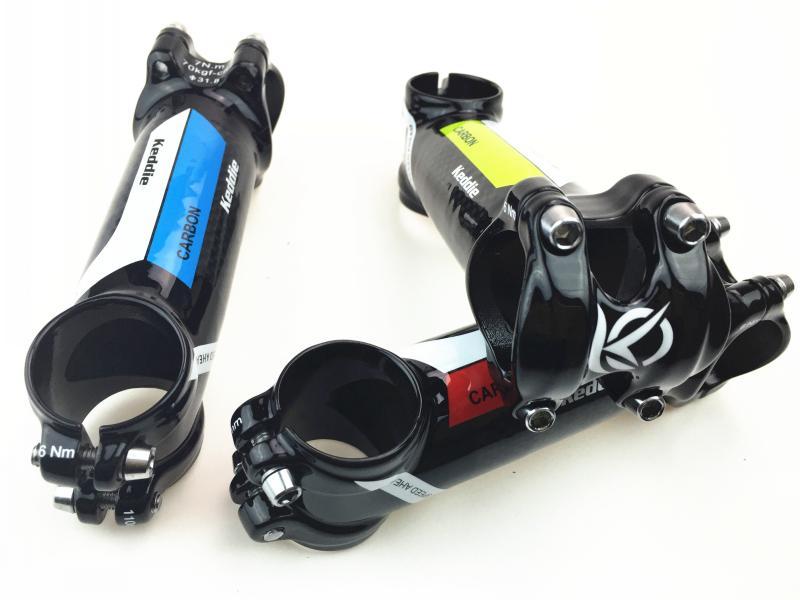 Keddie karbonsko kolo za cestna kolesa lahka MTB steblo / karbonsko - Kolesarjenje - Fotografija 2