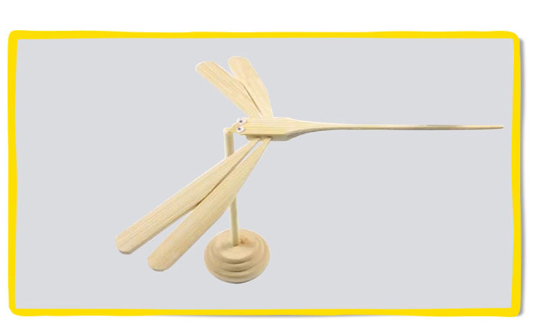 Newest Cool Balance toys SUSPENSION BAMBOO DRAGONFLY Arts & Crafts, DIY toys for boys present
