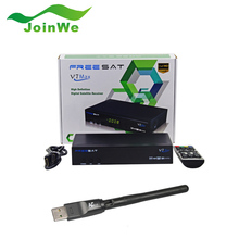 Freesat V7 Max receptor de satélite con una WIFI 1080 P apoyo FULL HD DVB-S2 Cccam Newcam YouTube Youporn envío libre