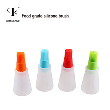 1 pc Grill Oil Bottle Brushes Silicone Liquid Oil Pen Cake Butter Bread Pastry Brush Baking BBQ Utensil Basting Brush