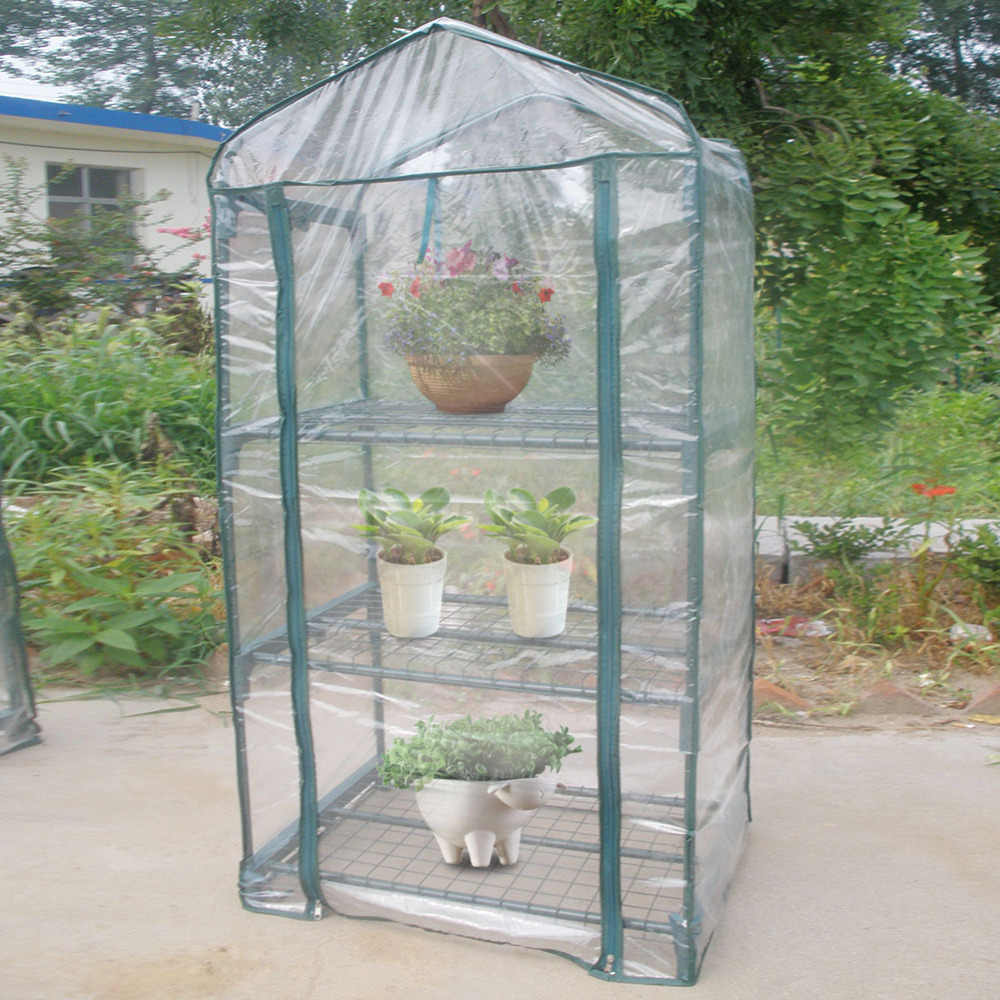 Transparent Outdoor Plant Cover Garden Green House Warm Greenhouse Flower Plants Gardening Cover