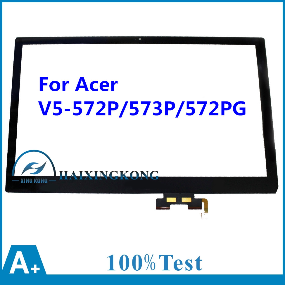 15.6'' Laptop LCD Touch Screen Digitizer Glass For Acer Aspire V5-552 572 573 582 V5-573P V5-573PG V7-581 V7-582 Series MS2361 new 15 6 for acer aspire v5 571 v5 571p v5 571pg v5 531p touch screen digitizer glass replacement frame