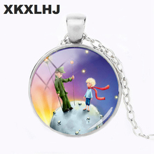 XKXLHJ 2018 Fashion Netflix Adapted Glass Necklace Course Convex Round Pendant Sweater Chain Womens Clothing