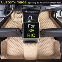 For KIA Rio Car Floor Mats Custom Carpets Car Styling Customized Specially Made For Sorento Carens